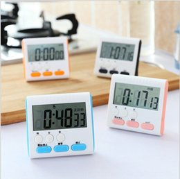 24 hour glasses UK - QiIFN Multi-function kitchen 24-hour electronic student printable Multi-function kitchen Learning 24-hour electronic timer timer student lea