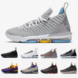 king springs Canada - James 16 MPLS 15 mens basketball Shoes 16s Ghost Graffiti EQaulity Four Horsemen King Black Gold Fresh Bred LA trainers sports Sneakers 7-12