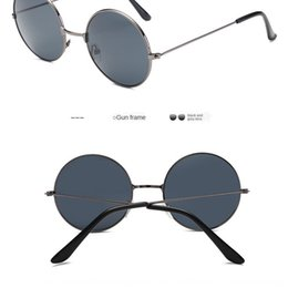 Wholesale soccer groups for sale – custom New ims round sun men s and women s Sunglasses fashionable round frame Huang Xiaoming wedding Best Man Group Chinese style Prince glasses