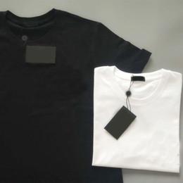S-5XL 2021 Womens T shirt Lettre imprimée 100% coton Mens femmes Loose Summer Mode Print Street Casual Rue Lâche Homme T-shirts T-shirts en Solde