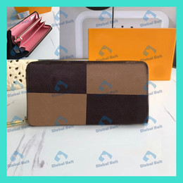 Discount trendy dresses pleats Men's Wallets Ladies Wallets Trend Out Street Trendy Products Folded walletSingle Zipper Color Inside Wallets Fashion Leather