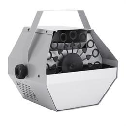 Vente en gros Silver Bubble Effec Generator 30W Mini Mini Mini Maker Machine Souffleur automatique pour mariage / bar / spectacle de fête / de scène