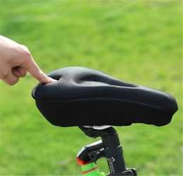 Bike Saddles Tampon De Gel Silicone Csaddle Cyclisme V Lo 3d Couvre Matelas Cycling Pad MTB Bicycle Seat Cover Cushion