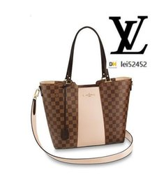 Wholesale silk jersey knit for sale - Group buy lei52452 KN2 N44022 Jersey WOMEN HANDBAGS ICONIC BAGS TOP HANDLES SHOULDER BAGS TOTES CROSS BODY BAG CLUTCHES EVENING