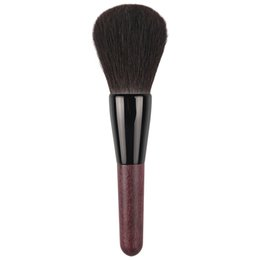 green handle makeup brushes NZ - 004 Professional Makeup Brushes Ultra-soft Blue Squirrel Hair Face Powder Brush Natural Wood Handle Cosmetic Tools Make Up Brush