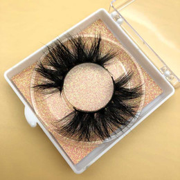 ups labels 2020 - Mikiwi Wholesale Free UPS 50 pairs 5D Mink Lashes Dramatic Lashes 35 styles custom Free logo Private label Square box ch