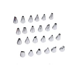 cupcake cakes designs UK - 60 Design 403 Stainless Steel Icing Piping Nozzles Tulip Rose Flowers Petal Pastry Tips DIY Cupcake Cake Decorating Dessert Baking Tools