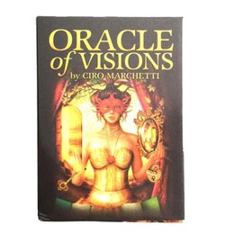 vision designer 2020 - Party Palying Oracle Of 44 Visions Board Game Tarot L Oracle Oracle Pcs Games For Cards Cards Card Deck bbyfmt yh_pack c