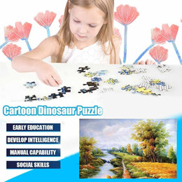 puzzles landscape NZ - By the river Jigsaw Puzzles 1000 Pieces Puzzle Toys Adults Children Paper Assembling Picture Landscape Games Educational Toy