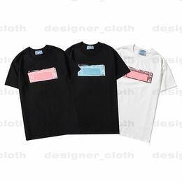 21ss Mujeres para mujer diseñadores t shirts carta marco impreso moda camiseta algodón casual camisetas de manga corta de luxurys ropa camisetas en venta
