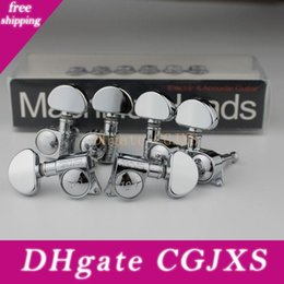 Rare High Quality 18:1 Grover Guitar Machine Heads Tuners Guitar Tuning Pegs 3R+3L   Set on Sale
