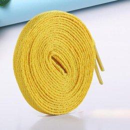 venda por atacado 2020 Novo estilo branco e amarelo laços de malha para crianças sólida segura laços tamanho 36- 45