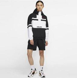 Wholesale zip hoody jackets for sale – custom Men Air Jacket Coat Sweatshirt Hoodie Long Sleeve Autumn island Zip Sports Hoody Windbreaker stone Mens Hooded Pullover Hoodies Asian size