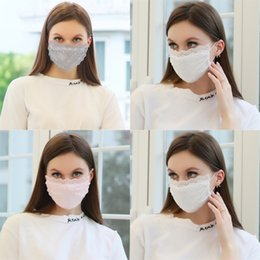 protective face mask dust 2020 - Print Mask Cartoon Face Masks With Breather Valve Anti Dust Masks Dustproof Protective Design Mask Protection#653 cheap