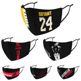 Wholesale designer footballs for sale – custom Fashion Basketball Baseball Football Face Mask Waterproof breathable masks PM2 Multi function Masks Sport Dust Mask NEW Styles