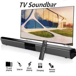 2020 Hot venda do bluetooth speaker Soundbar Home Theater TV Portable Speaker Subwoofer 3D sem fio Bluetooth TV Soundbar em Promoção