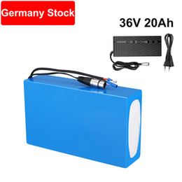 Europe Warehouse 36V 20Ah Electric Bicycle Rechargeable Li-ion Battery for Bafang E-bike Mid Motor 500W 750W with Charger on Sale
