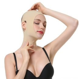 plastic face mask beauty UK - Pe005 V beauty thin double chin plastic and tightening face bandage artifact face carving sleep beauty Mask facial mask lifting plastic