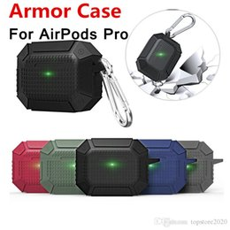 airpods case shockproof UK - Amor TPU Silicone Heavy Duty Waterproof Shockproof Anti-dust Portable Full Protection Case Cover for AirPods 3 Pro