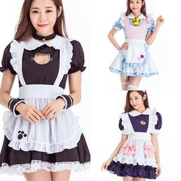 Wholesale lolita maid outfit online – ideas 2k7pc New COSPLAY cute Sexy cartoon New Lolita COSPLAY Cartoon Restaurant cute maid outfit Sexy Lolita maid outfit restaurant