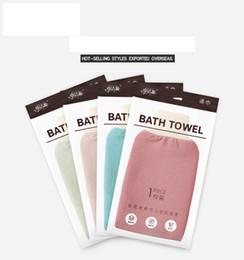 bath gloves scrubbing exfoliating gloves hammam scrub mitt magic peeling glove exfoliating tan removal mitt(normal coarse feeling) on Sale