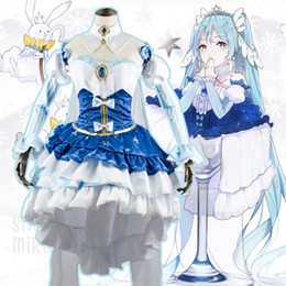 Wholesale sound clothing for sale – custom YDywd pzDTs cosplay clothing Princess style coswear future clothes cosplay clothing Snow first sound Snow style Princess first cosw