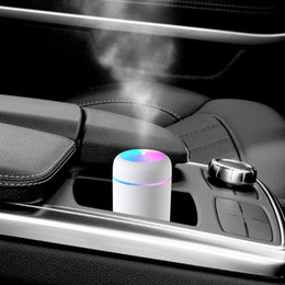 Mini Portable Humidifier Ultrasonic Air Humidifier Soft Colorful Light Essential Oil Diffuser Home Mister Car Purifier Cool Mist Maker