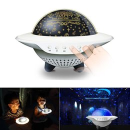 children projection lighting Australia - cgjxs Star Moon Projector With Music Bluetooth Speaker Led Night Light For Children Kid Bedside Ufo Rotate Projection Lamp Christmas Birthda