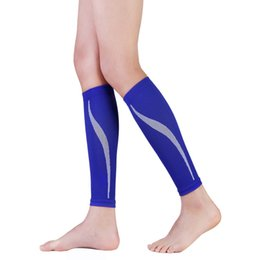 football calf sleeves Australia - Outdoor Exercise Calf Support Graduated Compression Leg Sleeve Sports Socks