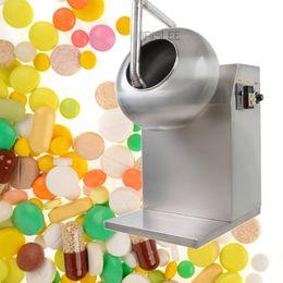 venda por atacado Alta eficiência preço de fábrica automática de aço inoxidável máquina de revestimento de chocolate pequeno, máquina de açúcar revestimento