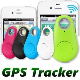 Vendita calda Mini Smart Smart Wireless Bluetooth Tracker Auto Bambino Portafoglio Perstifili Persone Sindacatore GPS Playator Anti-Lost Allarme Promemoria per Smart Phone MQ10 in Offerta