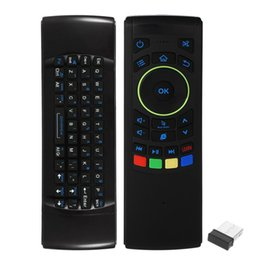wireless keyboard for linux UK - Keyboard Fly Air Mouse Wireless Remote Control Touchpad 2 .4ghz For Linux Os Windows Mini Pc Smart Tv Android Tv Box