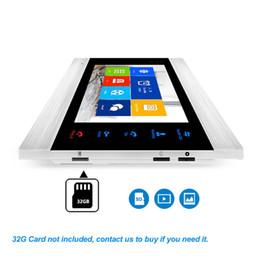 Freeshipping Tuya Inteligente App remoto da câmera video da porta Desbloquear WiFi IP Phone Vídeo Intercom Sistema de detecção de movimento Código do teclado RFID em Promoção