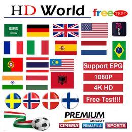 venda por atacado O mais recente europeu IPTV M3U suporta TV inteligente, Android e iOS, que podem ser usados na Espanha Alemanha França EUA Canadá Suécia World TV