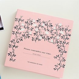 Cartoon Photo Album Nordic Self Adhesive Album For Family Pictures DIY Stickers For Photo Albums Baby Scrapbooking For Memory on Sale