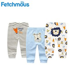 infant christmas bloomers UK - Fall Winter Newborn Infant Baby Boys Girls Thick Pants Bloomers PP long Pants Leggings MX200811