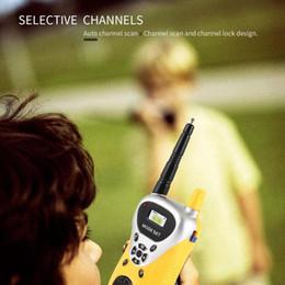 Vente en gros Radio émetteur-récepteur professionnel Intercom électronique talkie-walkie Enfants Enfant Mini Handheld Jouets radio bi-portable