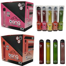 Toptan satış Bang XXL Tek Vape Kalem XXTRA Cihaz Bakla E Sigaralar Vape Bakla Başlangıç Setleri 6ml Boş Ambalaj 800mAh Pil 2000 puf Buharlaştırıcı