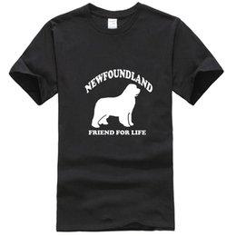 Wholesale newfoundland dog for sale – custom Men Newfoundland Dog Lover Pet Mens T Shirt Gift More Size and Colors