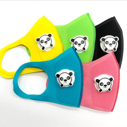 baby panda bears Australia - Baby Bear Protective Mouth Girls Mask Cartoon Anti Size Sponge Children Face Kids Cover Fog Boys Mask Reusable WASHABLE For Panda Dustp Psxk