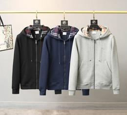 Wholesale cardigan sweater jacket mens for sale – custom 20fw New Arrival Paris Men Designer Windbreaker Coat Down Jacket Hooded Cardigan Padded Sweater Winter Zip Up bbr mens Jacket