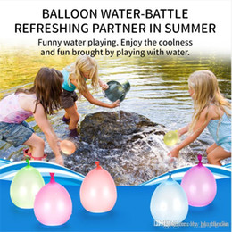 water balloons games Canada - Colorful Bunch of Balloons Water filled Balloon Amazing Magic Water Balloon Bombs Toys filling Water Ballons Games for Kids Toys