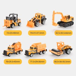 hot girls model Australia - Hot selling alloy container simulation engineering vehicle truck excavator fire truck toy model container boys and girls toy gifts