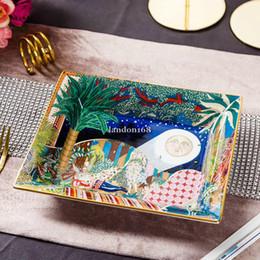 Boa qualidade Porcelana cinzeiro charuto cerâmica cinzeiro de luxo fumo Ash Tray Acessórios para casa fumadores em Promoção
