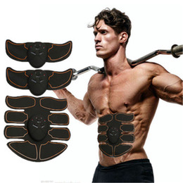 Smart Electric Pulse Treatment Fitness Massager Abdominal Muscle gel stickers EMS Wireless Muscle Stimulator Intensive massager on Sale