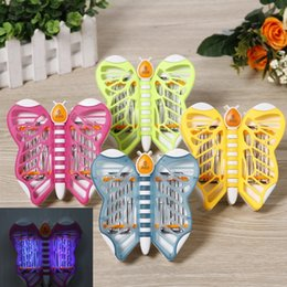 electronics usa NZ - Butterfly Photocatalyst Mosquito Killing Lamp Electronic Mosquito Insect Trap Lamp EU USA Mosquito Zapper Bug Repellent