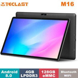 teclast keyboard NZ - Teclast M16 Tablet MediaTek Helio X27 4GB RAM 128GB ROM Dual Band WiFi 4G 1920*1080 11.6 Inch Android 8.0 Tablet with Keyboard