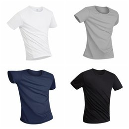 polyester athletic t shirts Australia - 2020 Mens Athletic Shirts Anti-Dirty Waterproof Breathable Super Soft Fabric Quick Dry Anti-Bacterial Short Sleeve T-Shir Q3QB#