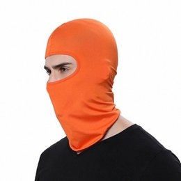 hats sun protection face cover UK - Outdoor Balaclava Full Cover Face Neck Scarf Turban Hat Caps Motorcycle Windproof Sun Protection Cycling Face Mask ZZA2468 kaI2#