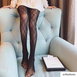 Mulheres Verão' s Silk calças justas Concise Estilo G impresso Gloss Meia-calça exterior de alta qualidade Anyi- UV Tighs em Promoção
